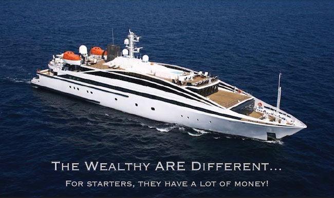 Wealthy People Are Different...