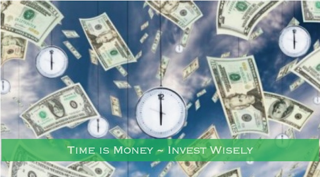 A thought on Time and Money. Do you have enough of both?